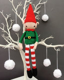 Christmas Elf Crochet Pattern & Yarn Pack