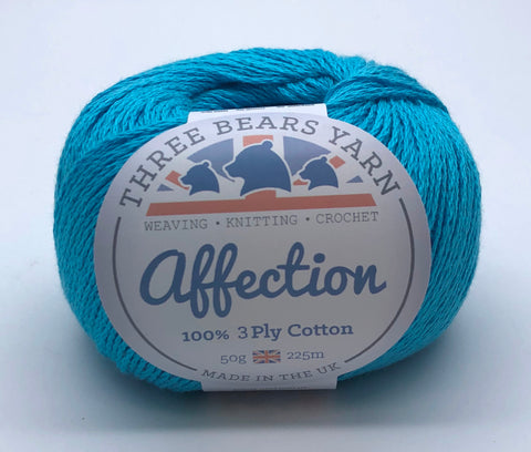 Mermaid Cove 100% Cotton - 50g 3Ply (Fingering)