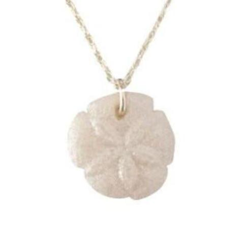 P013 Sand Dollar Molded Cremation Pendant