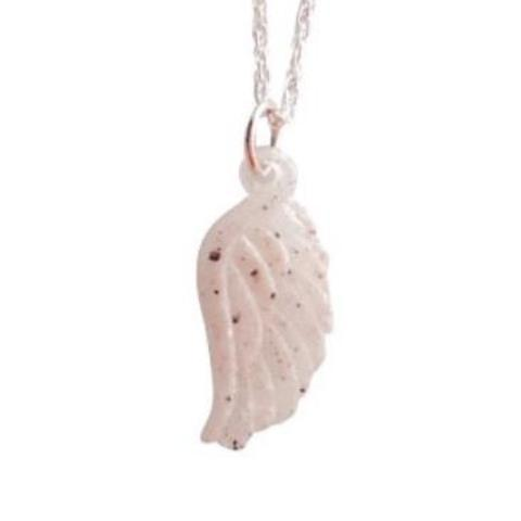 P008 Angel Wing Molded Pendant