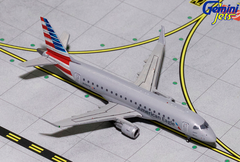 1/400 GeminiJets American Eagle Embraer ERJ-175 Diecast Model - RW Hobbies