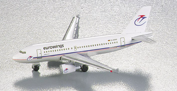 1/500 Herpa Eurowings Airbus A319-100 Diecast Model - RW Hobbies