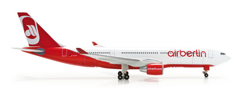 "1/500 Herpa Air Berlin Airbus A330-200 ""D-ALPH"" Diecast Model - RW Hobbies"
