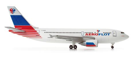 "1/500 Herpa Aeroflot ""test livery"" Airbus A310-300 Diecast Model - RW Hobbies"