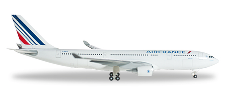 1/500 Herpa Air France Airbus A330-200 Diecast Model - RW Hobbies