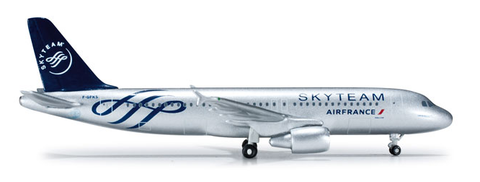 "1/500 Herpa Air France ""Skyteam"" Airbus A320-200 Diecast Model - RW Hobbies"