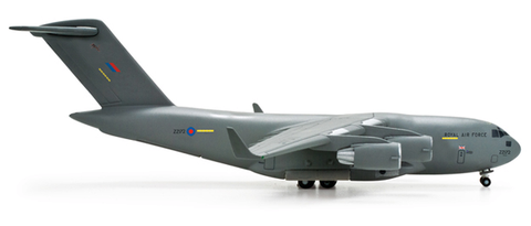 1/500 Herpa Royal Air Force Boeing C-17A Globemaster III, No 99 Squadron Diecast Model - RW Hobbies