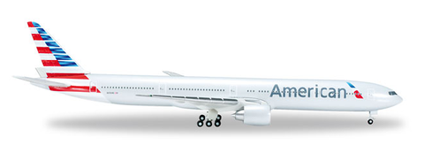 "1/500 Herpa American Airlines Boeing 777-300ER ""N371AN"" Diecast Model - RW Hobbies"