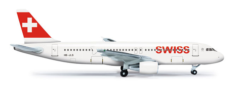 1/500 Herpa Swiss International A320-200 Diecast Model - RW Hobbies