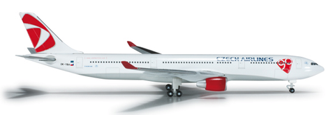 1/500 Herpa CSA Czech Airlines Airbus A330-300 Diecast Model - RW Hobbies