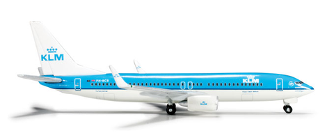 1/500 Herpa KLM Royal Dutch Airlines Boeing 737-800w Diecast Model - RW Hobbies
