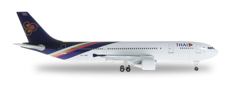 1/500 Herpa Thai Airways International Airbus A300-600 Diecast Model - RW Hobbies