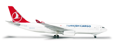 1/500 Herpa Turkish Cargo Airbus A330-200F Diecast Model - RW Hobbies
