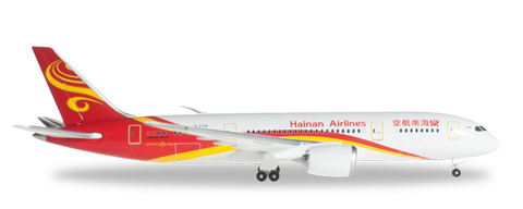 1/500 Herpa Hainan Airlines Boeing 787-8 Dreamliner Diecast Model - RW Hobbies
