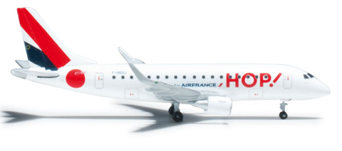 1/500 Herpa HOP! Air France Embraer ERJ-170 Diecast Model - RW Hobbies