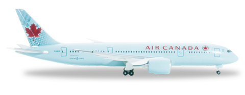 1/500 Herpa Air Canada Boeing 787-8 Dreamliner Diecast Model - RW Hobbies
