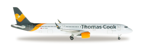1/500 Herpa Thomas Cook Airbus A321 Diecast Model - RW Hobbies