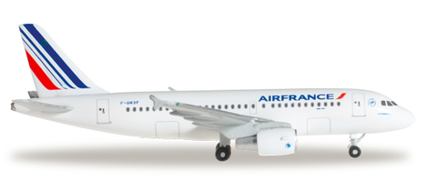 1/500 Herpa Air France Airbus A319 Diecast Model - RW Hobbies