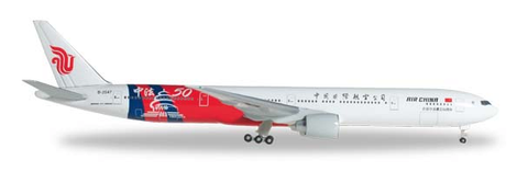 "1/500 Herpa Air China ""China-France 50th Anniversary"" Boeing 777-300ER Diecast Model - RW Hobbies"