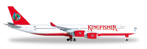 1/500 Herpa Kingfisher Airlines Airbus A340-500 Diecast Model - RW Hobbies