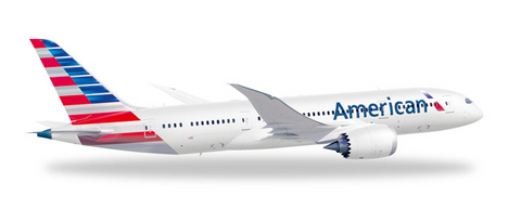 1/500 Herpa American Airlines Boeing 787-8 Dreamliner Diecast Model - RW Hobbies