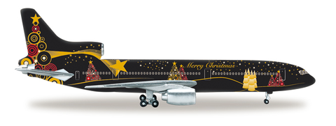 1/500 Herpa Christmas 2015 Lockheed L-1011-1 Tristar Diecast Model - RW Hobbies