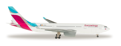 1/500 Herpa Eurowings Airbus A330-300 Diecast Model - RW Hobbies