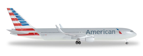 1/500 Herpa American Airlines Boeing 767-300ER Diecast Model - RW Hobbies