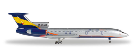 1/500 Herpa Aeroflot Don Tupolev TU-154M Diecast Model - RW Hobbies