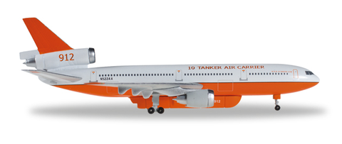 1/500 Herpa 10 Tanker Air Carrier McDonnell Douglas DC-10-30 Diecast Model - RW Hobbies