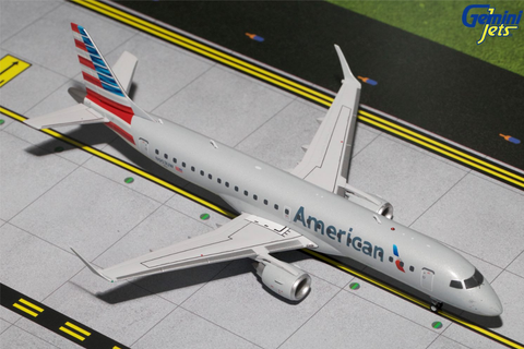 1/200 GeminiJets American Airlines Embraer ERJ-190 Diecast Model - RW Hobbies
