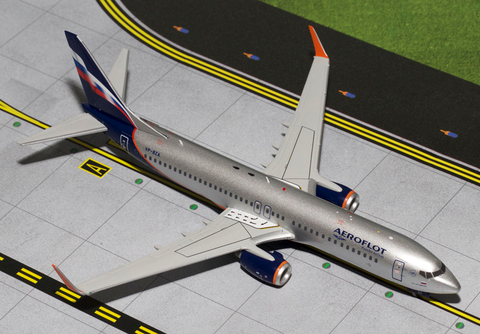 1/200 Gemini Jets Aeroflot Russian Airlines Boeing 737-800w Diecast Model Airplanes RW Hobbies