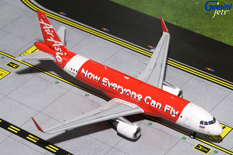 1/200 GeminiJets Air Asia Airbus A320-200s Diecast Model