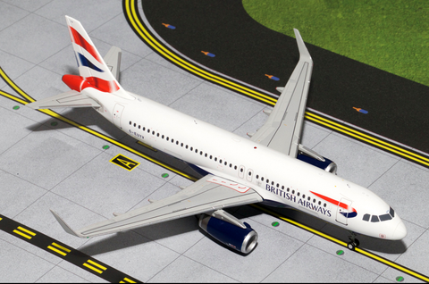1/200 GeminiJets British Airways Airbus A320-200 Diecast Model RW Hobbies