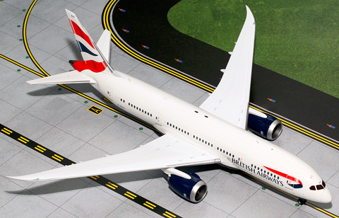 1/200 GeminiJets British Airways Boeing 787-8 Dreamliner Diecast Model - RW Hobbies