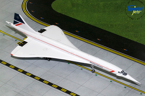 1/200 GeminiJets British Airways Aerospatiale Concorde Diecast Model - RW Hobbies