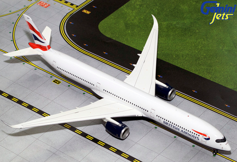 1/200 GeminiJets British Airways Airbus A350-1000 Diecast Model