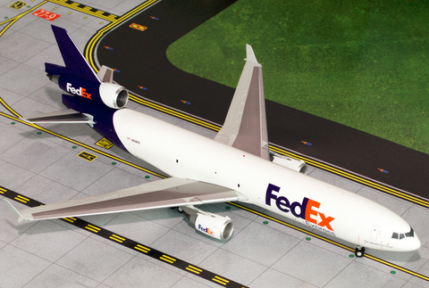 1/200 GeminiJets FedEx McDonnell Douglas MD-11F Diecast Model - RW Hobbies