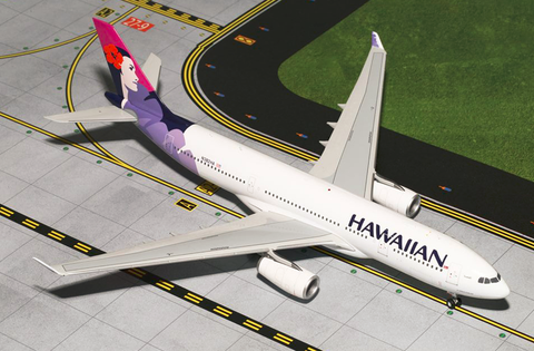 1/200 GeminiJets Hawaiian Airlines Airbus A330-200 1/200 Diecast Model - RW Hobbies