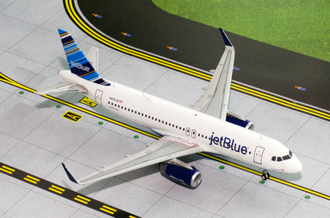1/200 GeminiJets jetBlue Airbus A320 Diecast Model - RW Hobbies