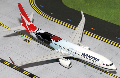 "1/200 Gemini Jets Qantas Airways ""Mendoowoorrji"" Boeing 737-800 Diecast Model Airplanes - RW Hobbies"