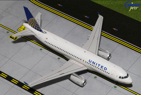 1/200 GeminiJets United Airlines Airbus A320-200 Diecast Model - RW Hobbies