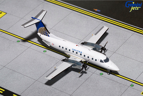 1/200 Gemini Jets United Airlines Express Embraer EMB-120 Brasilia Diecast Model Airplanes - RW Hobbies