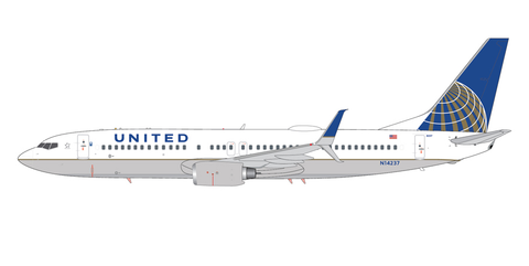 1/200 GeminiJets United Airlines Boeing 737-800s Diecast Model - RW Hobbies