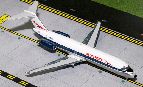 1/200 GeminiJets Allegheny Airlines McDonnell Douglas DC-9-30 Diecast Model