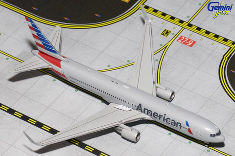 1/400 Gemini Jets American Airlines Boeing 767-300 Diecast Model Airplanes - RW Hobbies