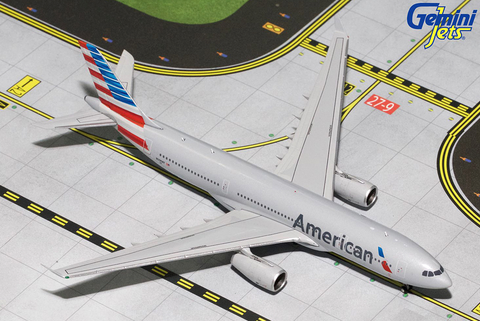 1/400 Gemini Jets American Airlines Airbus A330-200 Diecast Model Airplanes - RW Hobbies