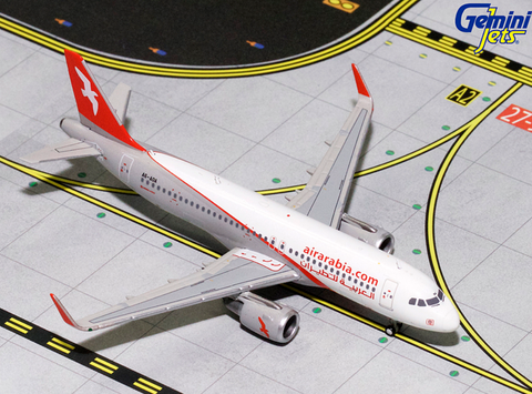 1/400 GeminiJets Air Arabia Airbus A320-200 Diecast Model - RW Hobbies