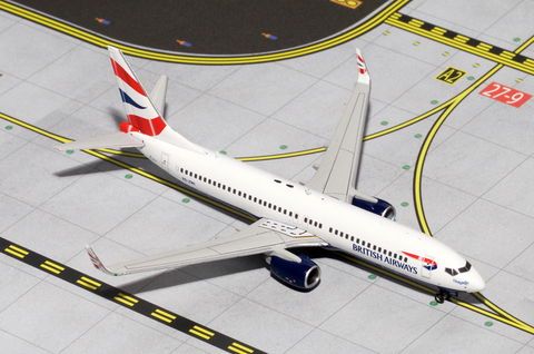 1/400 GeminiJets British Airways (Comair) Boeing 737-800w Diecast Model - RW Hobbies