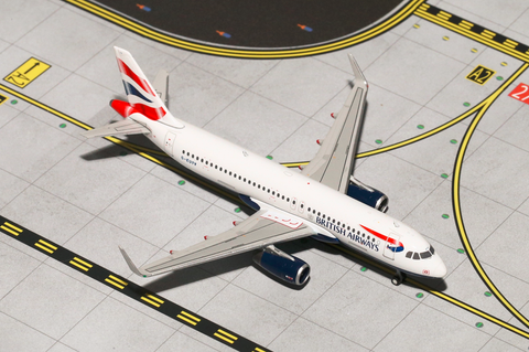 1/400 Gemini Jets British Airways Airbus A320-200 Diecast Model Airplanes - RW Hobbies
